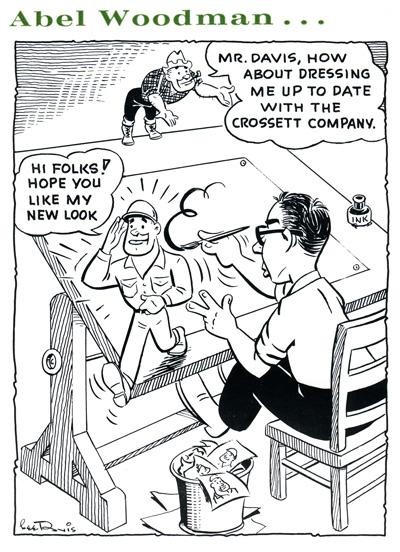 Abel Woodman by Lee Davis, March 1962
