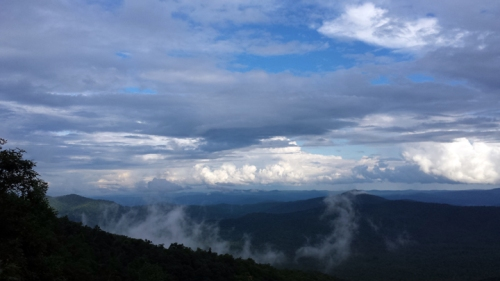 "The area around Asheville, NC, is known as ""The Land of the Sky"" and with good reason. Here's the view from the Blue Ridge Parkway. (Jamie Lewis)"