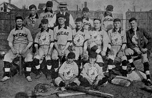 The Chicago Hoo Hoo baseball team.
