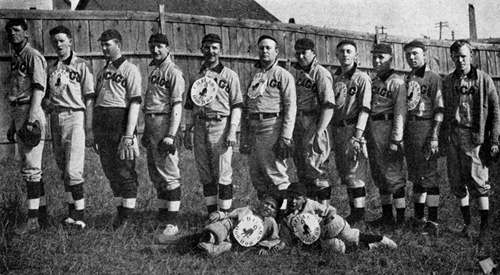 Chicago Hoo Hoo baseball team 1908