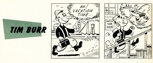 Tim Burr comic #1