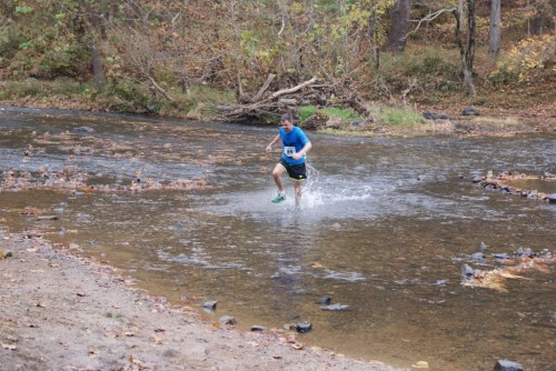 Duke Forest, Umstead Parks, and the Eno River, where this was taken, are very popular with the Durham running community.