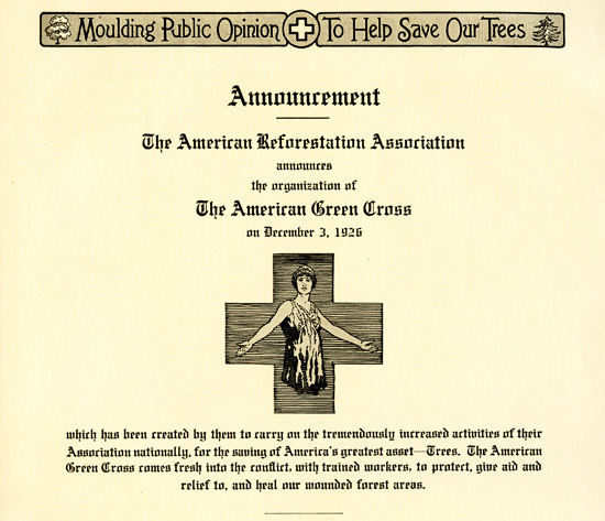 Green Cross announcement
