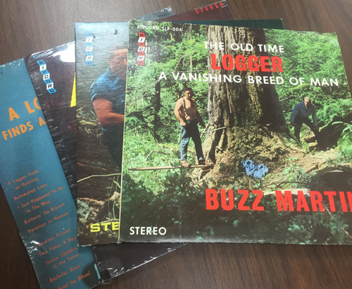 Buzz Martin records