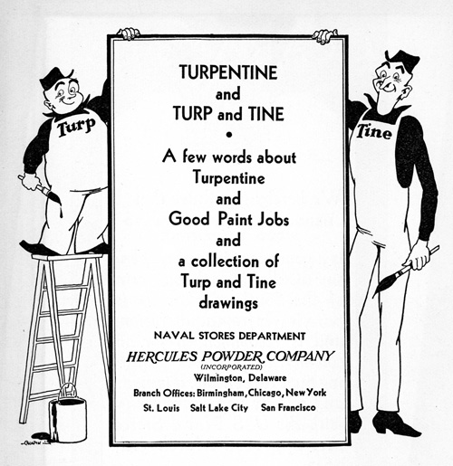 Turp and Tine promo cover